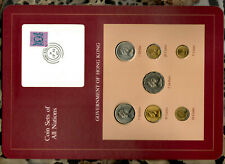 Coin Sets of All Nations Hong Kong 1979-1982 UNC $1 1980 $2 1982 $5 1981