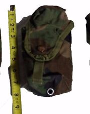 US ARMY Surplus Woodland Camo M16A2 Double Magazine Ammo Utility Pouch