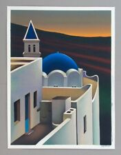 Igor Medvedev MAGIC PLACE serigraph AP 45/50 Artist's Proof on canvas