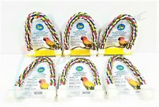 "6 Jw Comfy Perch Medium 14"" Multicolored for Conures and Other Medium Birds"