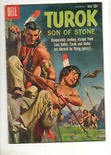 Turok, Son of Stone #19 Dell Pterodactyl Dinosaur Cover 1960 Fn 6.0 (Looks Vf+)