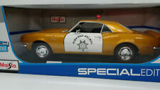 1968 Chevrolet Camaro Z/28 Coupe - Highway Patrol 1:18 Scale - Maisto SE