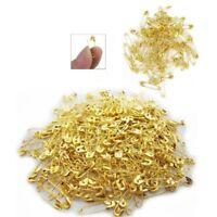 20 x Gilt Golden Gold Sewing Small Safety Pins - Art Craft Sew