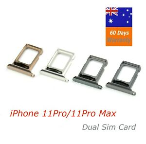 iPhone 11pro / 11pro max Dual Sim Card Tray For (A2217)(A2220)