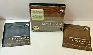 Sony Classical  Great Performances  1903-1998  CD  Oct-1999  4 Discs  Sony Music