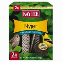 Kaytee 2 Pack, Thistle Seed Pouch, Seed With Refillable Sock Feeder.