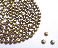 Diamante Me Mine Gold hot fix / iron on / glue on Rhinestone Diamante