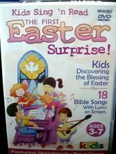 The First Easter Surprise (DVD) Kids Discovering Blessing of Easter & 18 Bible