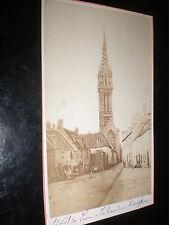 Cdv old photograph Saint-Pol-de-Leon Brittany France by Mage at Brest c1860s