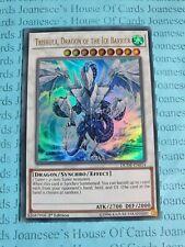 Trishula, Dragon of the Ice Barrier DUDE-EN014 Ultra Rare Yu-Gi-Oh Card 1st New