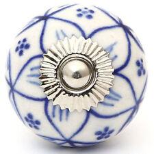 4 Pcs Ceramic Drawer Knobs Door Cupboard Pulls Handles Kitchen Knob Hand paint