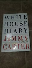 Jimmy Carter White House Diary's Signed Book