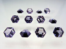Alexandrite 8.5x8.5mm Hexagon Cut Loose Stones Corundum Color Change Gemstones