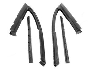 1968-1972 Chevrolet Chevy II, Nova 2 door sedan vent window weatherstrip seals