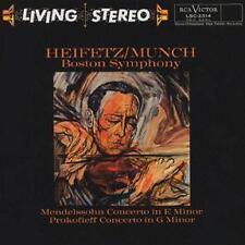 LIving Stereo LSC2314 Munch Heifetz Mendelssoh 45rpm