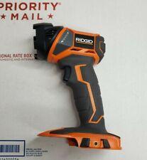 NewRidgid R8694 18V 340 Lumen, Rotating Head LED Flashlight Worklight,Tool Only