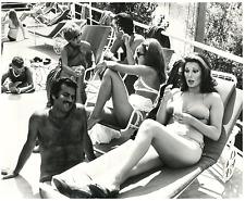 Edwige Fenech, actrice française, naturalisée italienne  Vintage silver print,