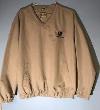 John Deere  Windbreaker Golf Jacket Size L