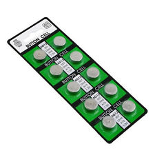 10pcs Cell Button Batteries AG13 LR44 357A S76E G13 Alkaline Battery 1.55V