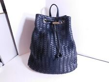 DEUX LUX - $$$ Braided faux leather backpack, good size