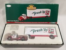 Diecast Corgi Heavy Haulers Fresh Up with 7Up Vendor Supplier Diamond T620 Cab