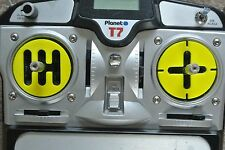Tamiya 1/14 Truck / Planet Trans Gear shift convertion inserts 3D Printed yellow