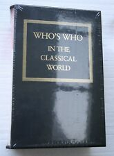 NEW Who's Who In the Classical World Box Set by John Hazel (2005) Routledge