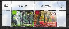 CEPT 2011/ Bosnien Herzegowina Kroatisch MiNr 311/12 ** Paar