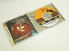 PANZER DRAGOON ZWEI Item REF/ccc Sega Saturn Import Japan Game ss