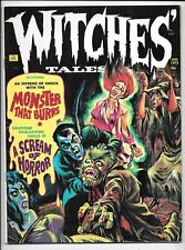 Witches Tales Magazine Vol 5 #1 January 1973 Eerie FN Heavy Metal Horror Art
