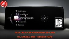 OEM 2021 Mazda Cx-5 Cx-9 Navigation SD Card Map Data GPS NAV TD2K66EZ1