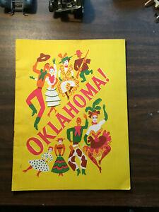"THEATER PROGRAMS :OKLAHOMA"""