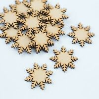 MDF Wooden Snowflakes Christmas Eve Box Toy Box Decor Xmas Cardmaking Snow flake