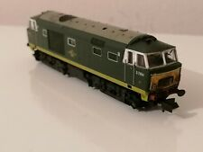 Dapol ND084P Hymek No. D7084 BR Two-Tone Green Late Crest Powered N Gauge
