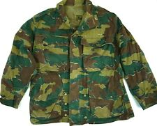 Vintage 50s Belgian Congo Camo Jacket Military Abl Ams 1958 Jungle Coat Army