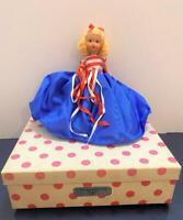 "NASB Nancy Ann Storybook Doll 193 July Very Independent Lady 7"" Socket Orig Box"