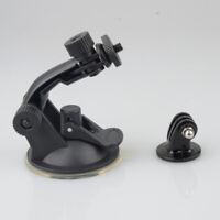 Car Camera Windscreen Dash Suction Cup Mount Tripod Black For GoPro Hero 4 3 2 1