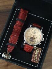 Ingersoll Richmond IN1800CR | inkl. Ersatzband | Uhrenbox Leder Kroko