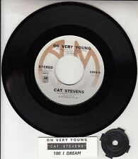 "CAT STEVENS Oh Very Young & 100 I Dream PICTURE SLEEVE 7"" 45 BRAND NEW record"