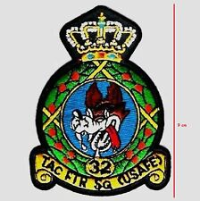 USAF EUROPE USAFE F-15C 32ND TFS WOLFHOUNDS 9cm INSIGNIA SOESTERBERG SPECIAL