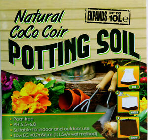 Natural Coco Coir Potting Soil