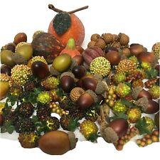 Decorative Acorns Gourds Peaches Berries Grapes For Crafts Vase filler Wreath