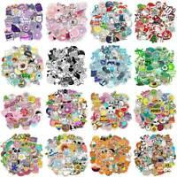 50Pcs Colorful Mixed Graffiti Waterproof Wall Sticker Xmas Cartoon Sticker Decal