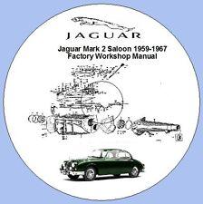 Jaguar Mark 2 Saloon 1959-1967 Factory Workshop Manual