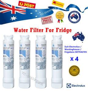 4 X ELECTROLUX & WESTINGHOUSE Fridge Water Filter EPTWFU01 807946705 WSE6870SA