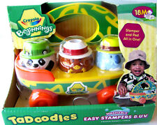 Crayola Beginnings 2009 TaDoodles Washable Easy Stampers BUV Ages: 18+ months