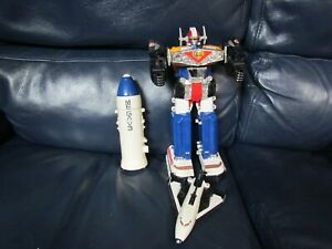 1999 Power Rangers In Space Deluxe Mega Voyager Megazord Complete Loose
