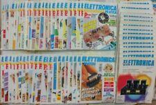 Lotto 70 riviste ELETTRONICA PRATICA + NUOVA ELETTRONICA + varie  anni 1987/2000