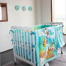 8PCS Nursery Home Crib Bedding Set Boys Baby--Fish Turtle Undersea Animal 013