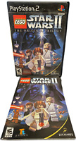 LEGO Star Wars II The Original Trilogy W Manual PS2 PlayStation 2 Game